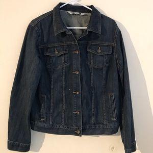 L l bean jeans jacket